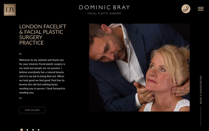 Dr Dominic Bray Facial Surgeon London