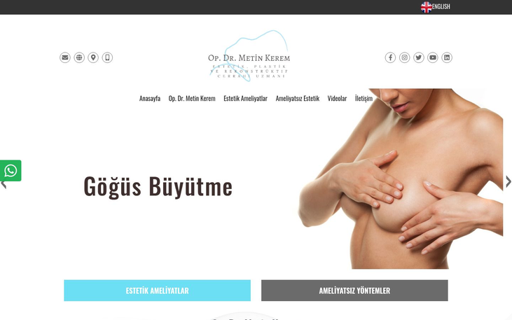 Dr Metin Kerem . Istanbul Turkey - Best Cosmetic Surgery Clinics In Turkey