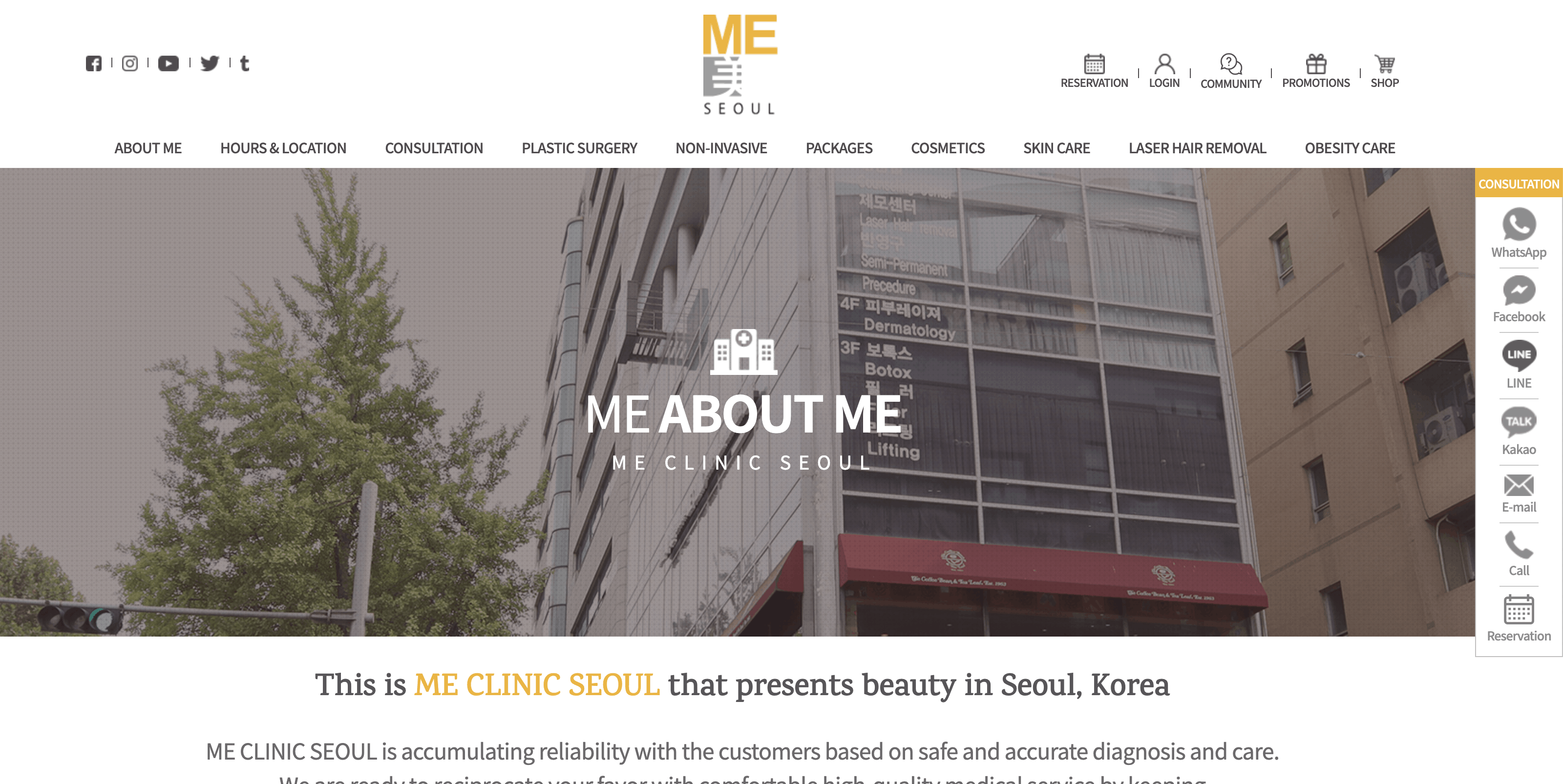 Me Clinic Seoul South Korea - Cosmetic Surgery Tourism Travel Thoughts With Covid 19