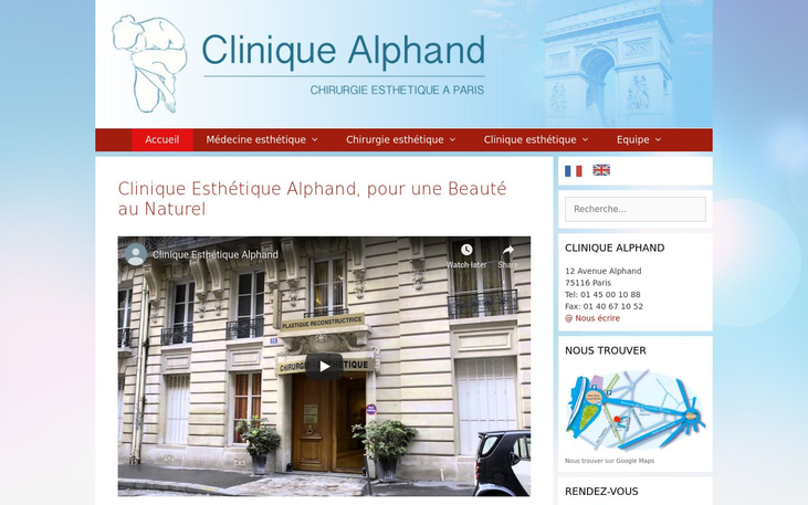 Alphand Aesthetic Clinic Paris France