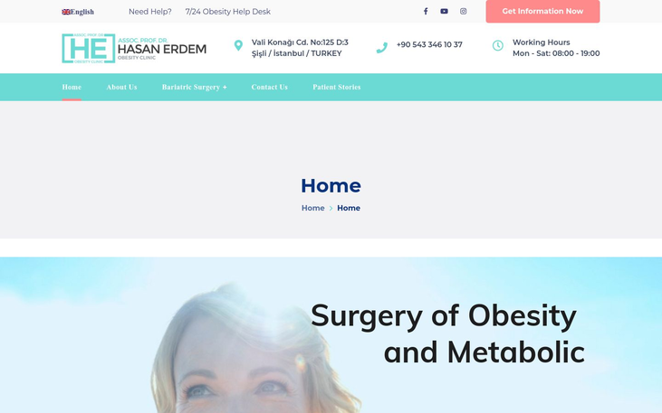 Dr HE Obesity Clinic Istanbul Turkey