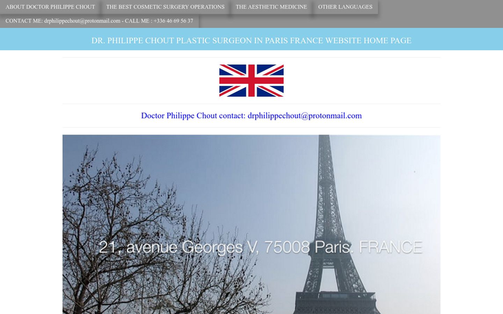 Dr Philippe Chout Cosmetic Surgery Clinic Paris France