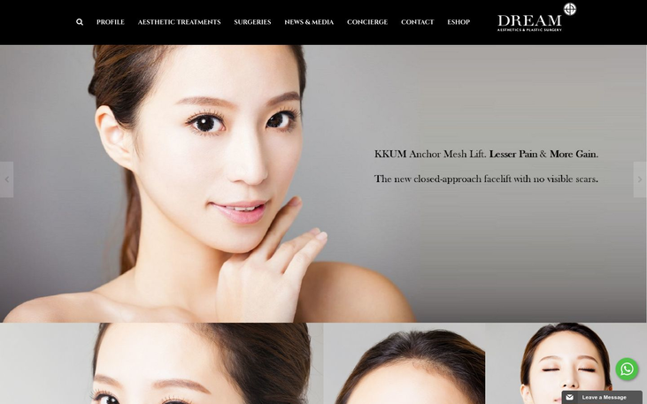Dream Aesthetic Clinic Singapore - Best Cosmetic Surgery Clinics In Singapore