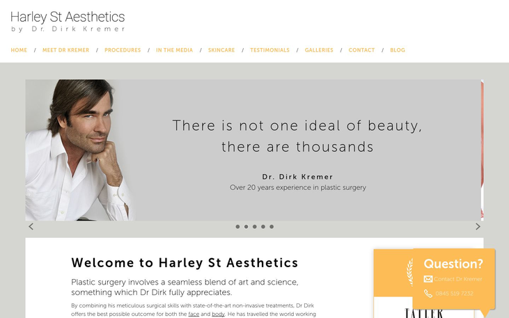 Harley St Aesthetics - Best Cosmetic Surgery Cinics In London Uk