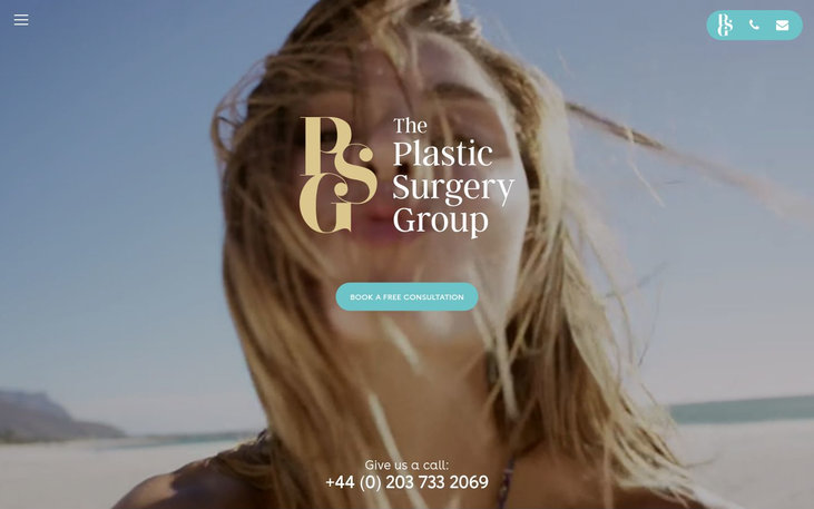 The Plastic Surgery Group UK - Best Cosmetic Surgery Cinics In London Uk