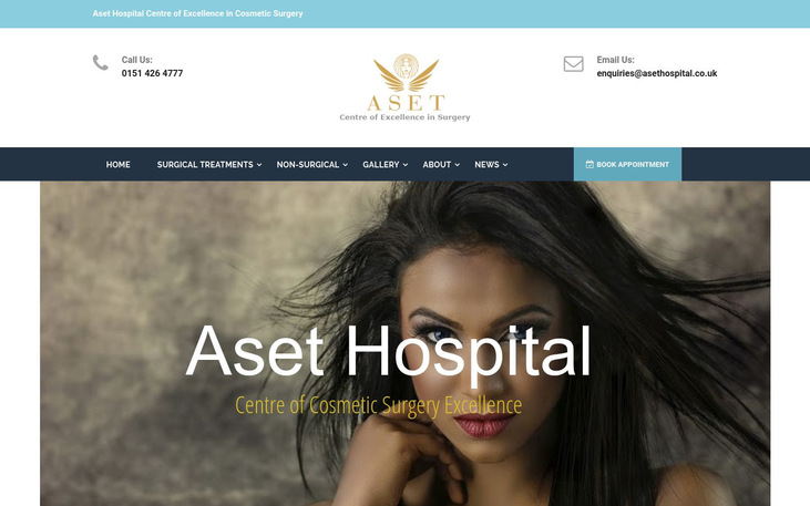 Aset Hospital Liverpool - Best Facelift Surgeons In Western Europe