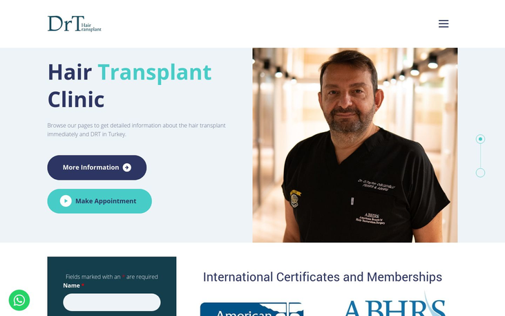 Dr Tayfun Hair Transplant Clinic Istanbul Turkey - Medical Tourism And Hair Transplant Surgery A Guide