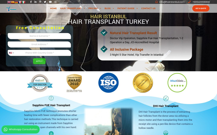 Hair Istanbul – Dr.Erkam Caymaz - Medical Tourism And Hair Transplant Surgery A Guide