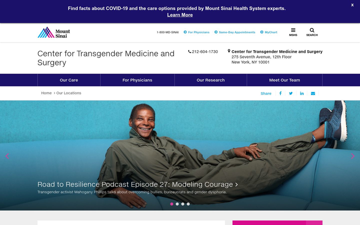 Center for Transgender Medicine & Surgery  New York USA - Tracheal Shaving Adam Loses His Apple