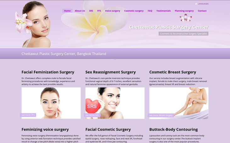 Chettawut Plastic Surgery Center, Bangkok Thailand - Cc Top Transgender Cosmetic Surgery Clinics Cy
