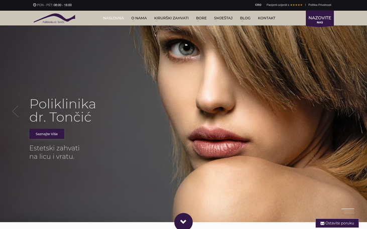 Dr Toncic Clinic Zagreb Croatia - Best Facelift Surgeons In Western Europe