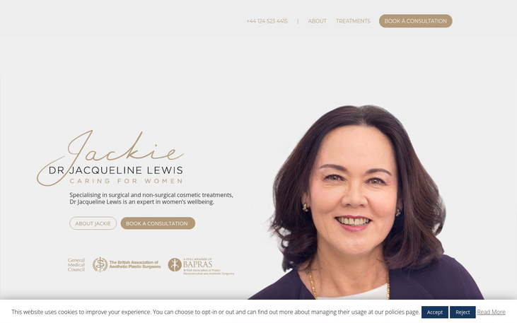 Jacqueline Lewis London UK - Best Cosmetic Surgery Cinics In London Uk