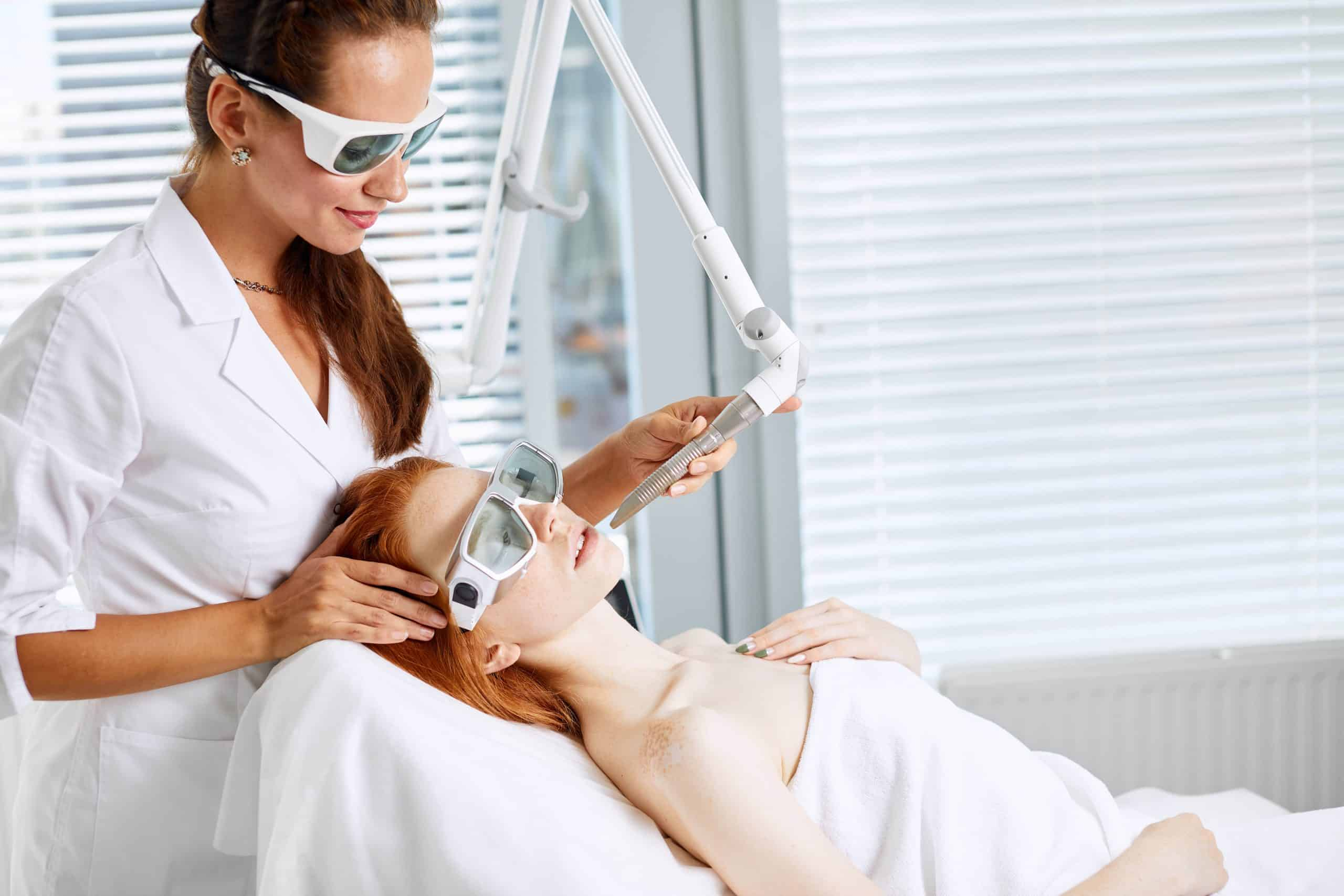 laser treatment - a good cosmetic treatment
