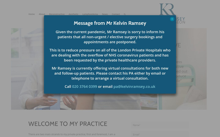 Mr Kelvin Ramsey. London UK - Best Cosmetic Surgery Cinics In London Uk