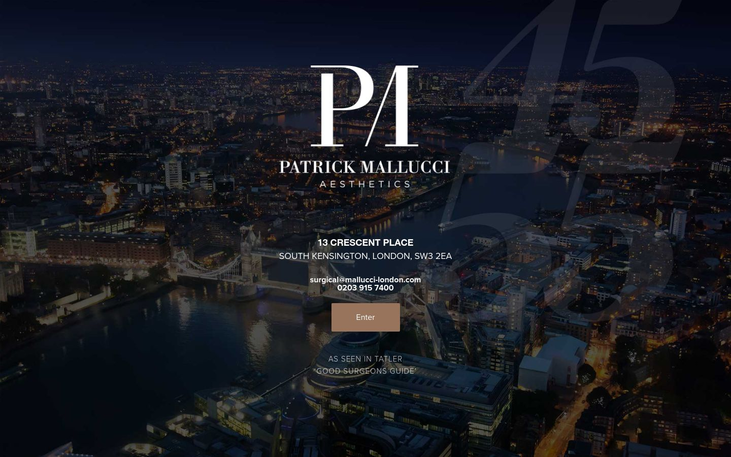 Patrick Mallucci. London UK - Best Cosmetic Surgery Cinics In London Uk