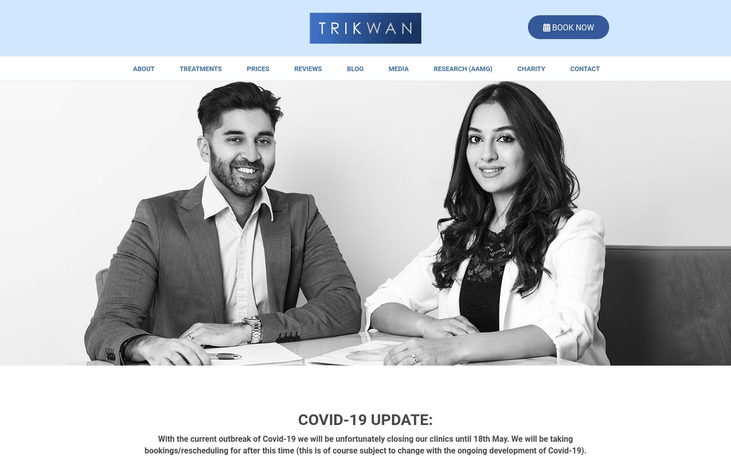 Trikwan Clinic London UK - Best Cosmetic Surgery Cinics In London Uk