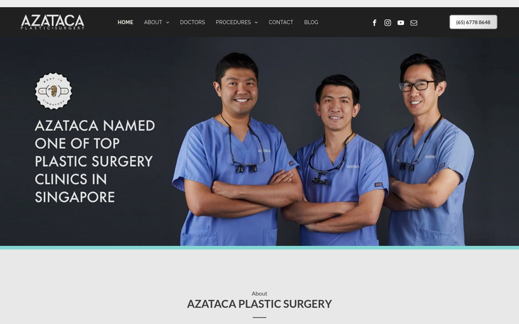 Azataka Plastic Surgery Clinic Singapore - Breast Lifts Mommy Makeovers Lifestyle Cosmetic Surgery