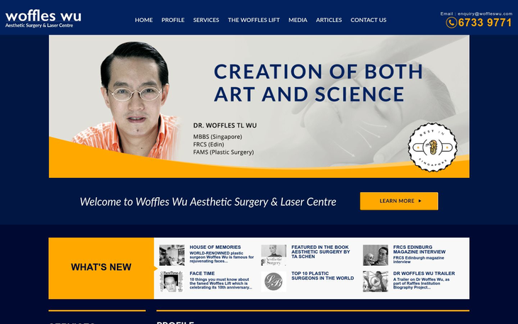Dr Woffles Clinic Singapore - Eyelid Surgery And Our Top Destinations
