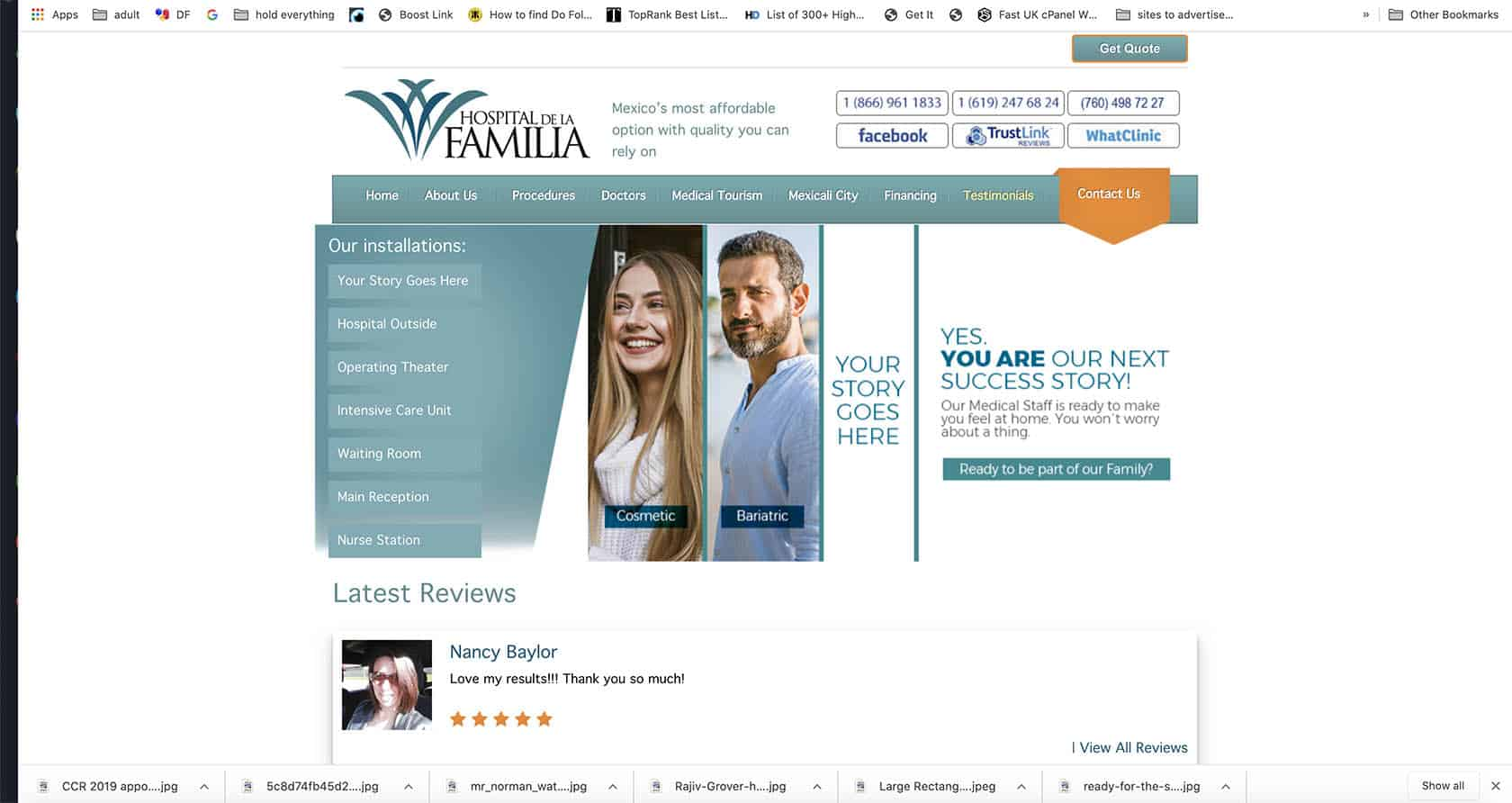 Hospital de la familia. Mexico - Best Cosmetic Surgery Clinics In Mexico