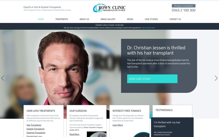 Crown Clinic Manchester - Medical Tourism And Hair Transplant Surgery A Guide
