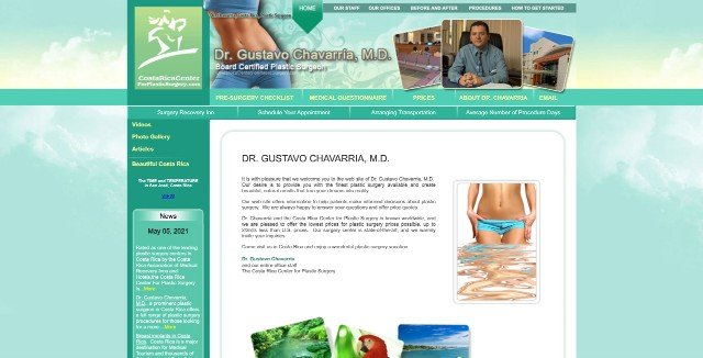 Gustavo Chavarria Costa Rica - Our Latest Video About Cosmetic Surgery Clinics In Costa Rica