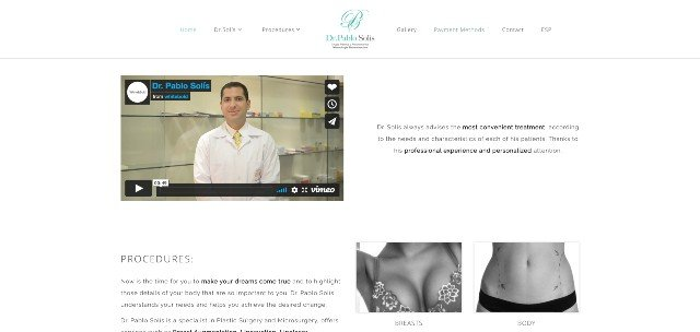 Pablo Solis.  San Jose, Costa Rica - Our Latest Video About Cosmetic Surgery Clinics In Costa Rica